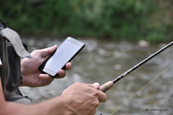 App para pesca deportiva