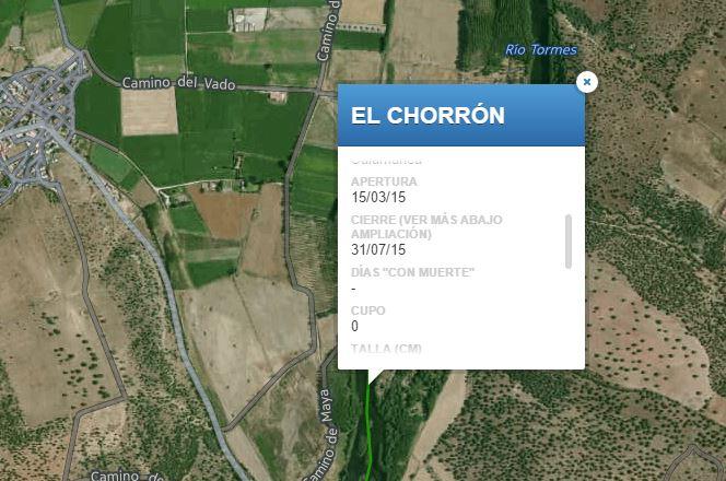Coto de pesca el Chorron