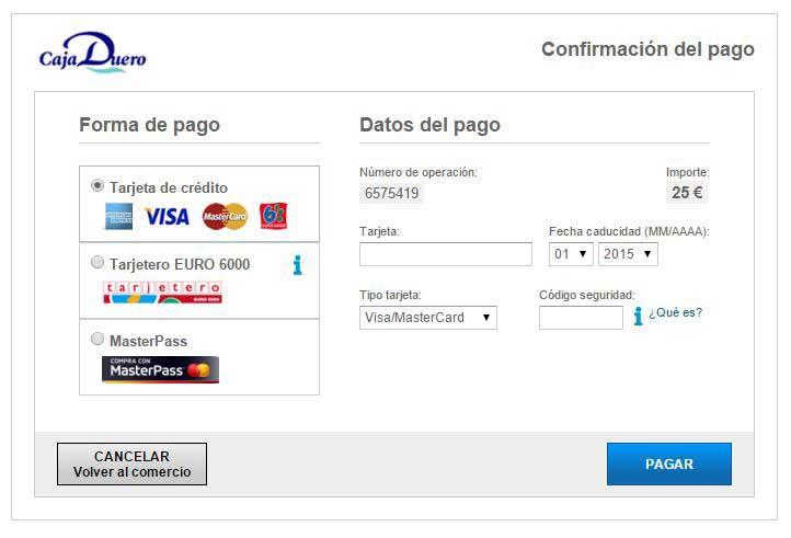 pago de licencia interautonomica