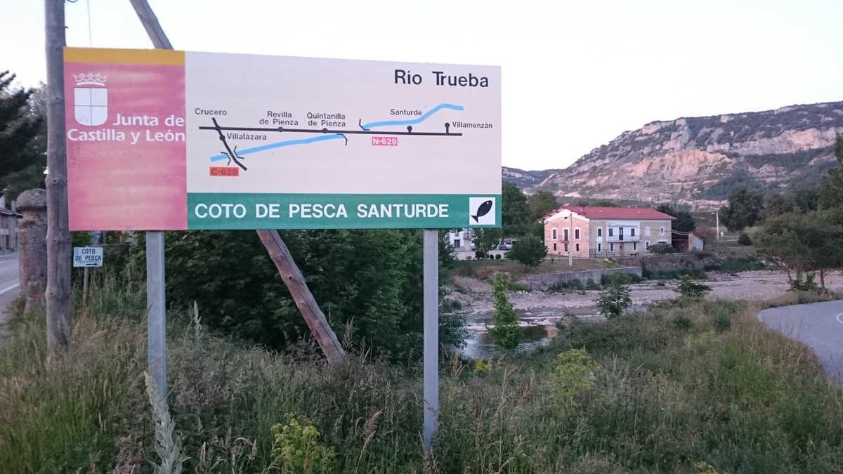 coto de pesca Castilla y Leon