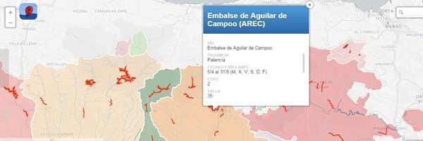 Mapa ARECs Castilla y León