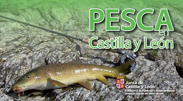 folleto de pesca de Castilla y León