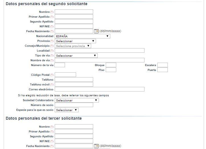 Solicitud de cotos de pesca en Asturias - paso 2